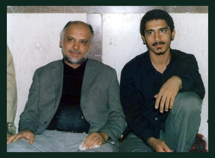 حسین فخری و پدرش حسن فخری