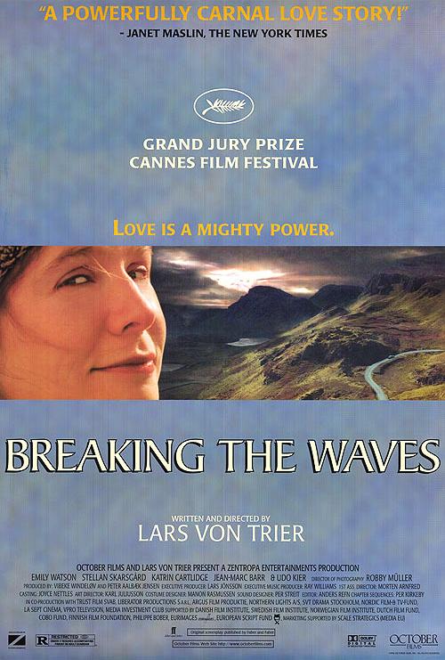 فیلم شکستن امواج فون تریه امیلی واتسون