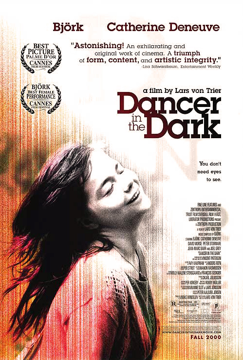 فیلم رقصنده در تاریکی فون تریه بیورک گومندسودواتیر