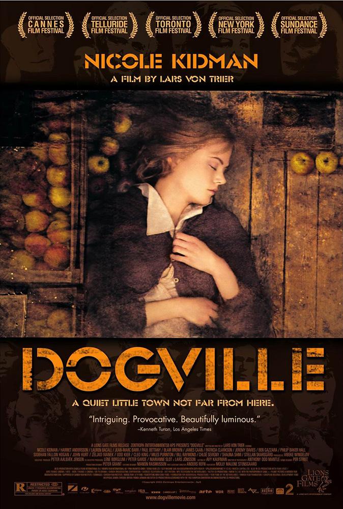 فیلم داگویل در تاریکی فون تریه نیکول کیدمن